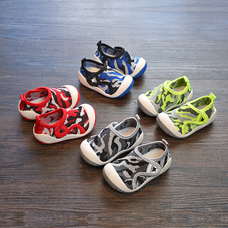 Autumn Baby Girl Boy Toddler Shoes Camouflage Color Infant Casual Shoes High Quality Soft Bottom Non-Slip Babies Shoes