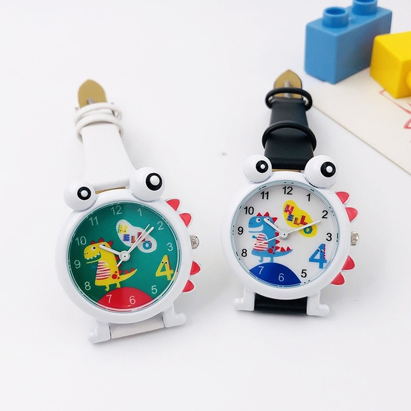 High Quality Kids Watch 2019 Fashion Casual Student Girl Boy Watch Cute Cartoon Dinosaur Waterproof Lovely Watch For Kids Gift
