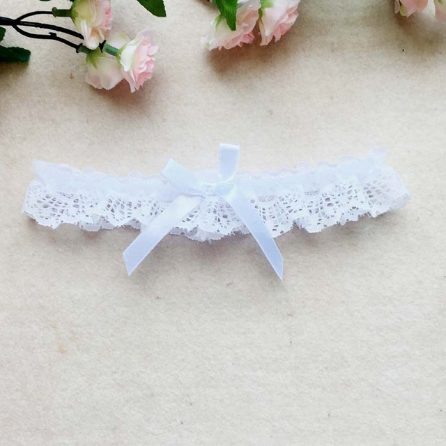 Women Bow Leg Ring Sexy Lingerie Lace Floral Garter Belt Bowknot Leg Loop Wedding Garters Bridal Cosplay Fashion Stocking Ring