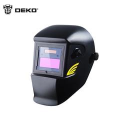 Сварочная маска DEKO MZ239 с автозатемнением стекла электрическая Сварочная маска шлем сварочный объектив для сварочная аппарата