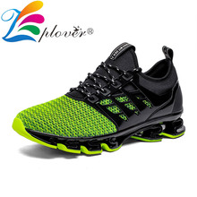 Breathable Mesh Sneakers Men Casual Shoes Men Blade Comfortable Outdoor Male Shoes Lace-up Footwear Tenis Masculino Big Size 39- цены онлайн