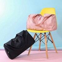 Shoe Position Dry Wet Separation Yoga Fitness Bag Large Capacity Sport Bag