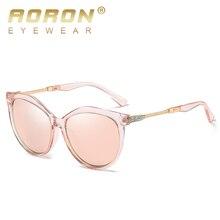 AORON Luxury Polarized Women Sunglasses Fashion Round