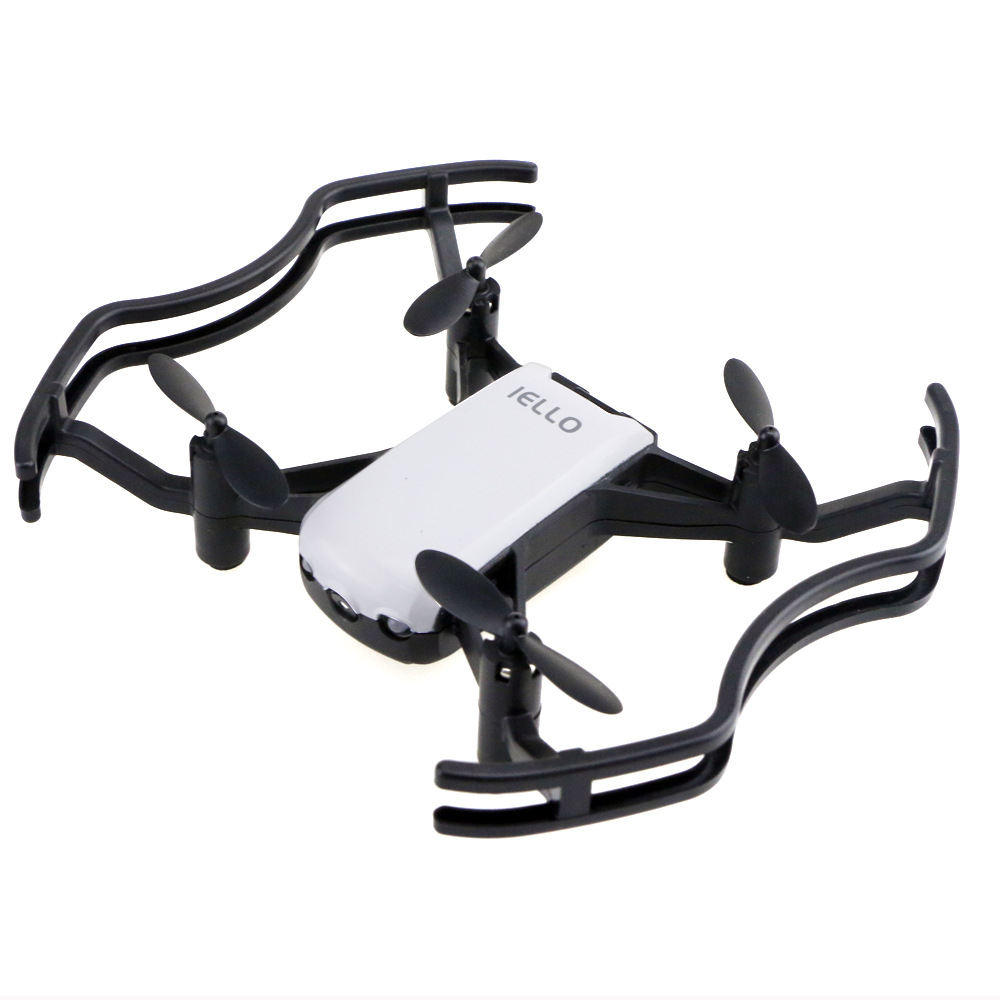 FLD F21g Optical Flow Fixed-Point Programming Rolling WiFi Aerial Camera Remote-control Four-axis Aircraft Folding Unmanned Aeri