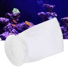 100/150/200um PP Aquarium Filter Bag Fish Tank Filter Mesh Net Sump Micron Sock Pouch Bags Aquarium Supplies Pet Products(China)