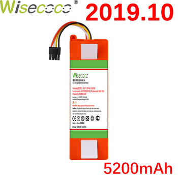 WISECOCO 5200mAh Battery For Xiaomi Mijia and Roborock S50 S51 Robot Vacuum Cleaner Li-ion Manufacture Roborock Battery