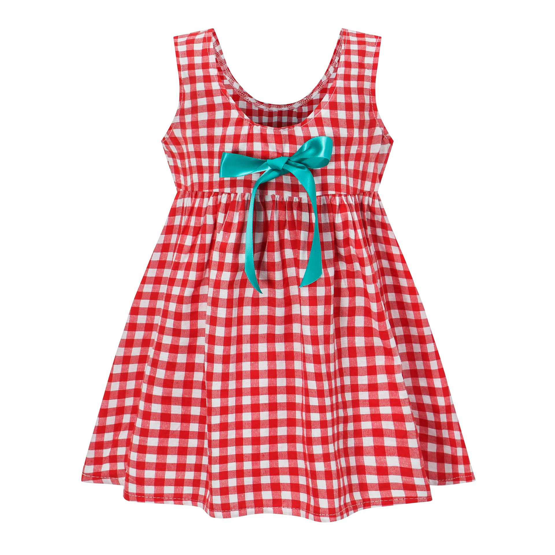 Весенне летнее платье для девочек Детские платья для девочек, платье принцессы детская одежда льняное платье в клетку без рукавов длиной до колена|Платья|   | АлиЭкспресс