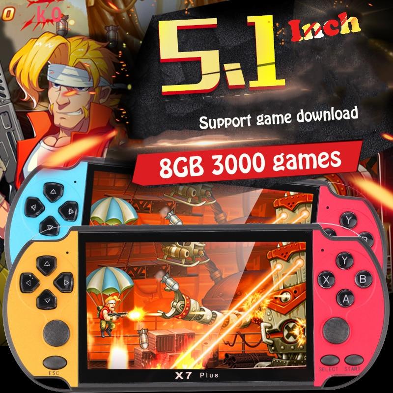 06 RS-06 שחקני משחק ניידות קונסולת משחקי וידאו מסך 5.1 אינץ