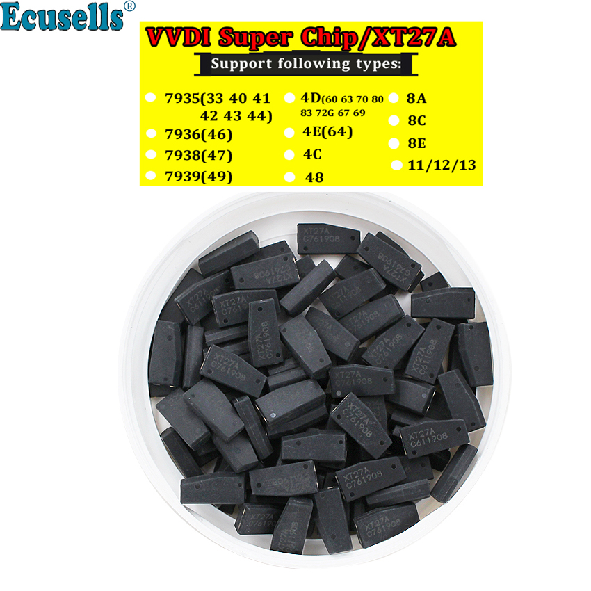 Transponder Xhorse Vvdi Super-Chip for T3/47 XT27A Key-Tool