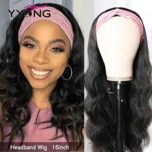 YYongHair vücut dalga bandı peruk % 100% İnsan saçı peruk brezilyalı vücut dalga saç peruk 8-24 inç tutkalsız Remy dalgalı İnsan saçı peruk