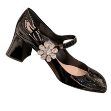 New mary jane shoes tacos altos mujer designer pumps luxury zapato mujer vintage high heels