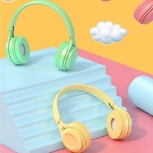 Nowe produkty Macaron bezprzewodowy zestaw słuchawkowy Bluetooth słuchawki Subwoofer zestaw słuchawkowy Stereo uniwersalny tanie tanio Inne CN (pochodzenie) wireless Others