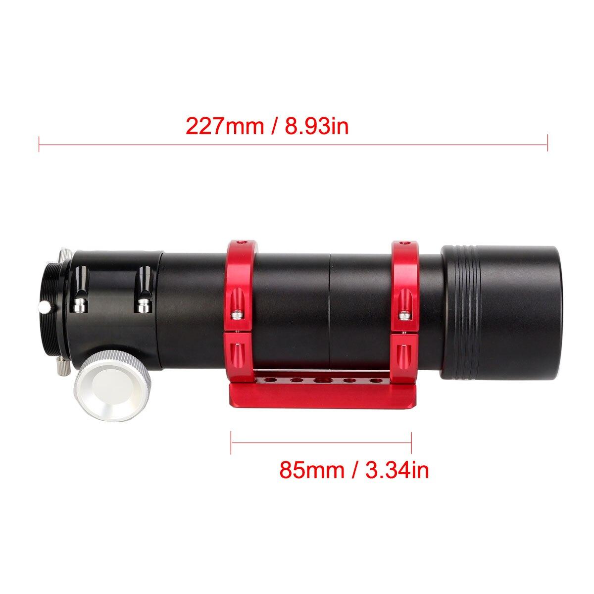 חדש 50mm f/4 באופן מלא מתכת רב תכליתי מדריך היקף Refractor טלסקופ אופטי צינור עבור אוטומטי מנחה מצלמות FinderscopLD2048A