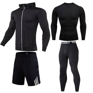 Sets Thermo-Underwear Clothing Compression-Sports-Suit Winter New Sweat Top-Quality Quick-Drying