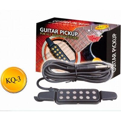 Звукосниматель (пьезодатчик) для акустической гитары GH KQ-3 панель для акустической обработки star sound triangle wood 3