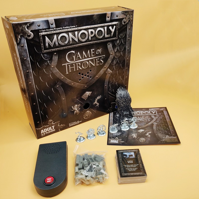 Game Of Thrones Monopoly Trading Board Multiplayer Strategy Game