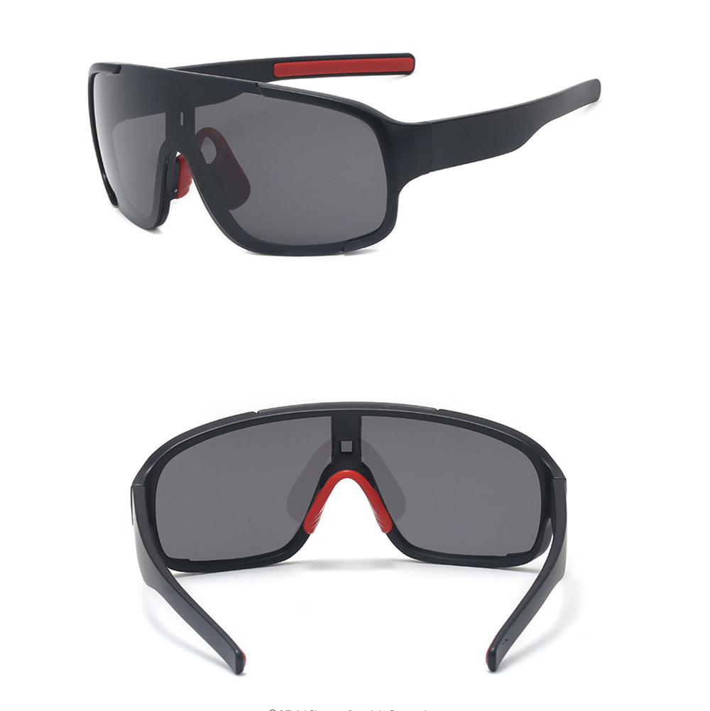 1 Set Windproof Cycling Eyewear Unisex Outdoor Sunglass UV400 Riding Sports Sunglasses Glasses Bike Sandproof Polarized Goggles