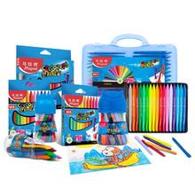 Maped plastikowe kredki kolorowe długopisy trygonometryczne kredki dziecko plastikowe kredki dla rodzajów prezent 12 18 24 36 48 zestaw dostaw sztuki tanie tanio CN (pochodzenie) 862436 Wosk caryon