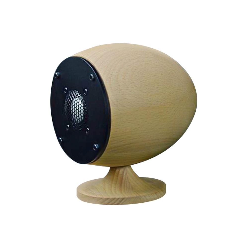 Wood Portable Mini Tweeter Sound Speaker 20W Treble Audio DIY Stereo Wooden PC Soundbar Speaker Sound System Loudspeaker   - title=
