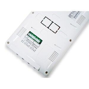 """Image 5 - 7 """"LCD מסך וידאו בית אינטרקום דלת טלפון מערכת 2 לבן צגים RFID גישה דלת מצלמה עבור 2 / 3 ביתי דירה"""