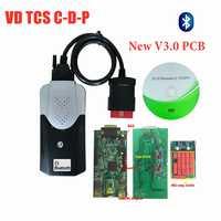 2019 Nuovo Disegno Vd Ds150e C-D-P con Bluetooth Migliore V3.0 Pcb 2016. r0 Keygen per Delphis OBD2 Auto Camion Scanner per Autocoms