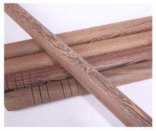Bâton des arts martiaux en bois aile de poulet, bâton des arts martiaux en bois massif, bâton des arts martiaux en bois rouge, bâton de la baguette de tin k long tai chi