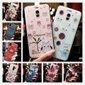 Für Meizu M6 Hinweis Fall 3D Blume Silikon Relief Telefon Abdeckung Für Meizu M6T M5 Hinweis M5C Fällen M6Note Coque capa