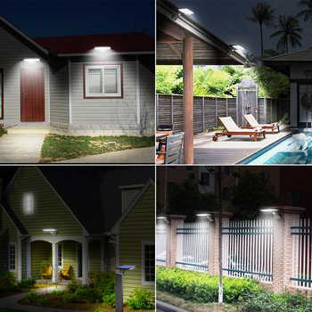 SHOPLED 90 Led Solar Light Outdoor Garden Solar Lamp Waterproof Lampara Solar Power PIR Motion Sensor Wall Light Decoration