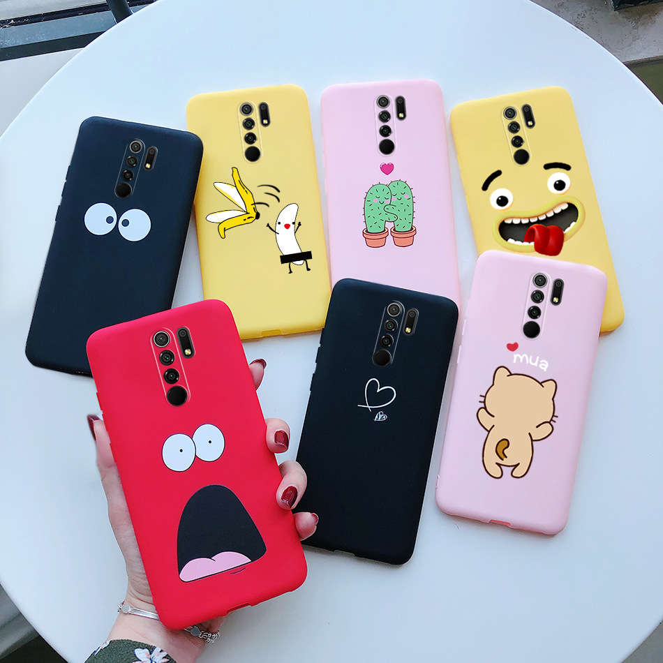 Para Xiaomi Redmi 9 funda para Xiaomi Redmi 9 Redmi9 funda de silicona suave Teléfono Protector de espalda Fundas Xiomi Redmi 9 funda