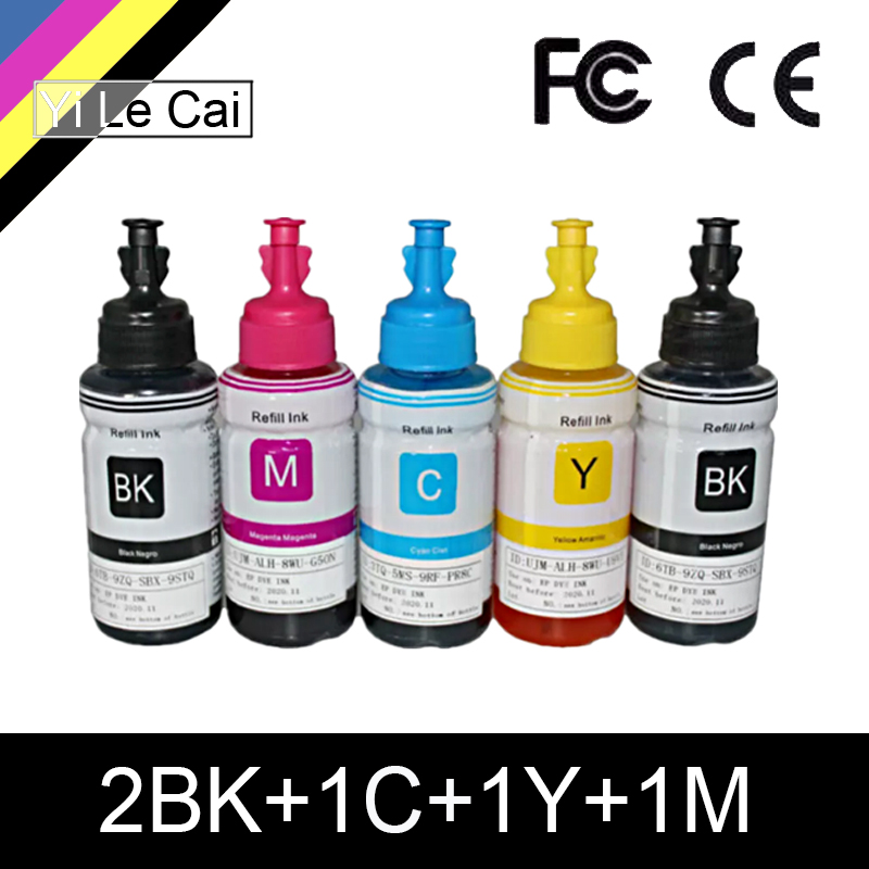 Dye-Ink Printer Ink L132 HTL L222 Epson L200 L120 L300 L100 70ml for L210/L222/L100/..