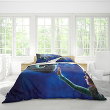 Double bed quilt cover 220cmx260cm bedding tamer dragon master pattern pillowcase three-piece set can be set pattern comfortable