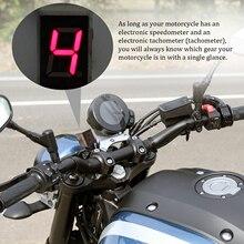 KKMOON Универсальный водонепроницаемый дисплей для мотоцикла с кабелем 0-8 положение шестерни светодиодный цифровой дисплей спидометр