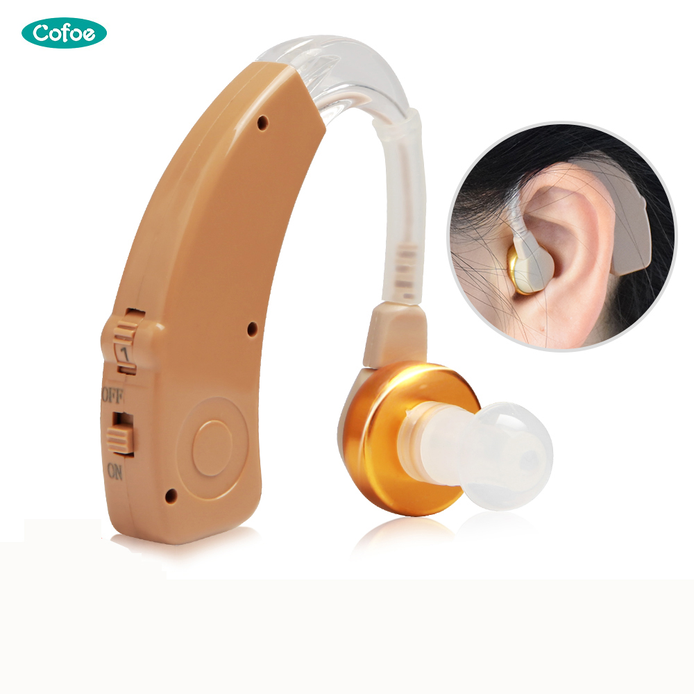 Cofoe  Hearing Aid For The Elderly  Wireless Rechargeable Hearing Aid For Deafness / Supprot Dropshipping