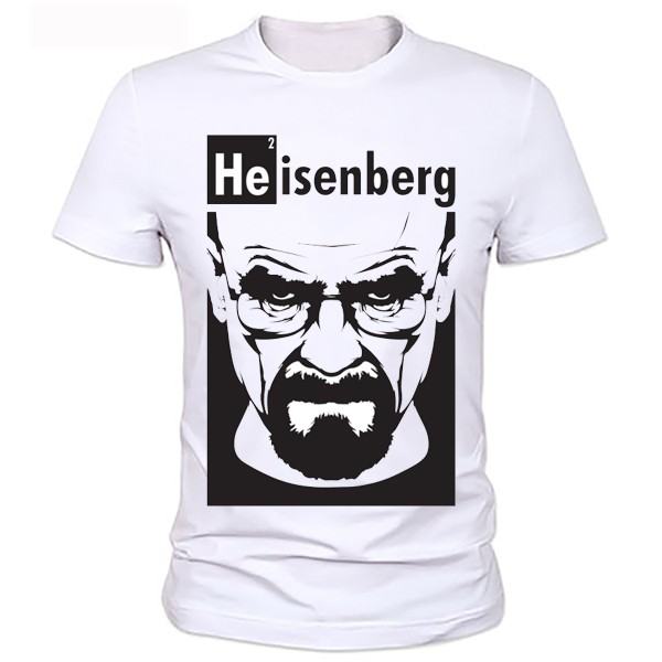 Breaking Bad T Shirt Top Quality O Neck Heisenberg Men Tshirt Short Sleeve Print Casual Breaking Bad Print T Shirt For Men