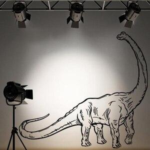 Brachiosaurus динозавр с длинным горлом стикер на стену с животными детская комната спальня Парк Юрского периода Динозавр динозавр Динозавр Наст...