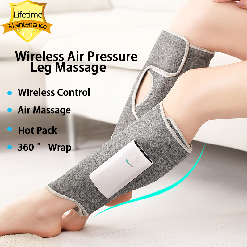 Wireless Leg Massager Air Compression Leg Massage Full Wrap Varicose Veins Physiotherapy|Leg Massage Apparatus| - AliExpress