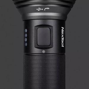Image 5 - NexTool مصباح يدوي قابل لإعادة الشحن 2000lm 380 متر 5 طرق IPX7 أضواء LED مقاومة للماء نوع C سيشينغ الشعلة للتخييم