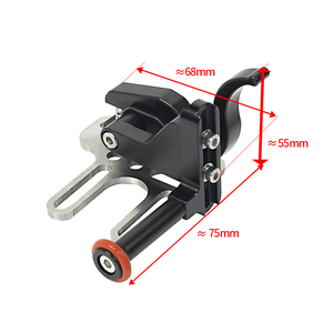 Image 5 - BGNing Upgrade Shutter Trigger Extension Lever Mount Adapter Accessory for Diving Tray Stabilizer Underwater Camera Housing Case