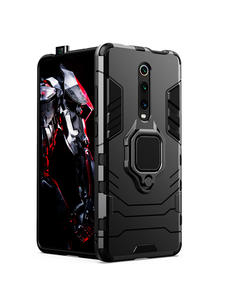 KEYSION Armor Case Phone-Cover Car-Ring Pro-Stand-Holder Shockproof Redmi K20 8-Lite
