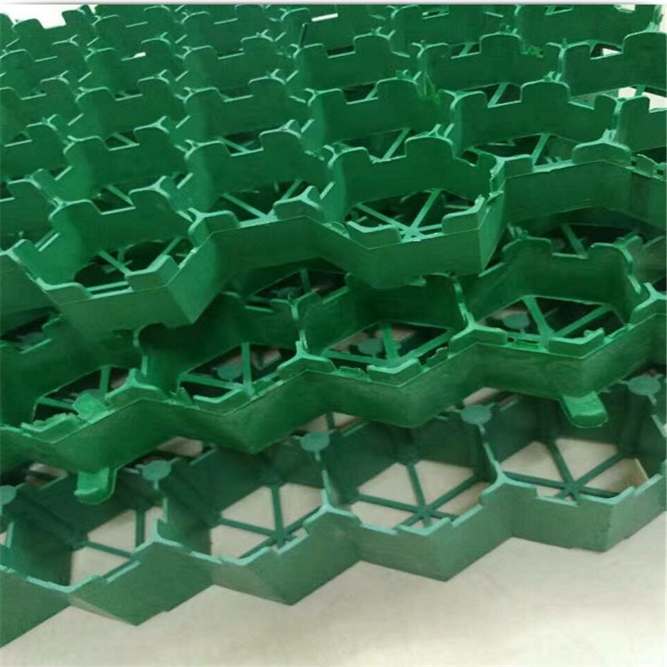 Reinforced Fire Exits Grass Green Lawn Slope Protection Grass Planting Cell Roof Green House Green Parking