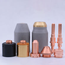 Теплодинамический плазменный сопротивление Защитная чаша экранированный наконечник режущий гусирующий Ohmic зажим 40/50/60/70/80/10/120 резак SL60/SL100 ...