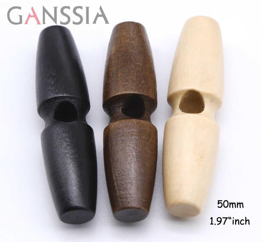 20 pièces/lot couleur naturelle forme inhabituelle corne boutons en bois bouton de couture pour vêtement Scrapbooking bricolage accessoires (ss-855)