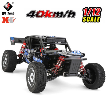 Wltoys 124018 1/12 RC Car 60Km/h High Speed Electric Car 2.4G 4WD Remote Contrl Car RC Off-road Crawler Vehicles Toys for Kids недорого