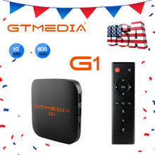 Gtmedia G1 Google TV caja 1G 8G Smart Android 7,1 TV Box Amlogic S905W WiFi LAN reproductor de medios IPTV M3U EE. UU. PK X96mini X96 mini EE. UU.(China)