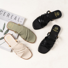 New Women Summer Sandals Female Shoes Flat Casual S