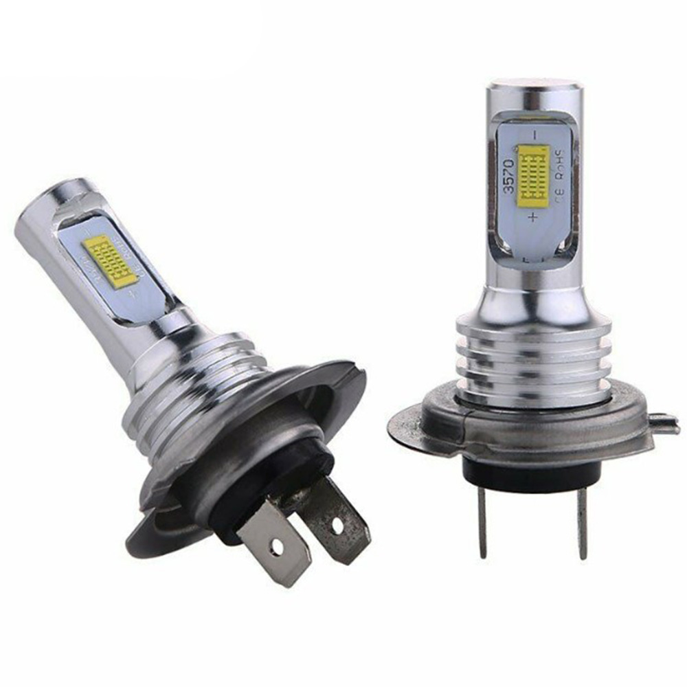 H7 LED Headlight Bulbs High Low Beam 35W 4000LM Super Bright 8000K Ice Blue Appearance And Increased Safety