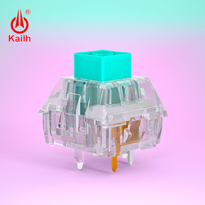 Image 4 - 10 قطعة kailh كريستال صندوق التبديل برو لوحة المفاتيح الميكانيكية لتقوم بها بنفسك RGB/SMD اللمس التبديل الغبار مقاوم للماء متوافق الكرز MX
