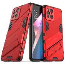 Bulmak X3 Pro X 3 Lite darbeye dayanıklı durumda Oppo bulmak için X3 Neo lüks kılıf bul X3 Lite Punk serin arka kapak bulmak X3 Pro X3 Fundas