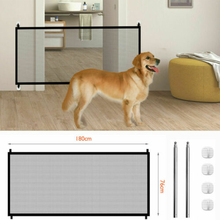 Fences Pet-Gate Stair-Enclosure Hook-Protection Safe-Guard Mesh Folding Outdoor Safety-Fence--3