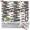 3D Mosaic Self Adhesive Tile Backsplash Wall Sticker Vinyl  Decal Bathroom Kitchen Home Decor DIY 1